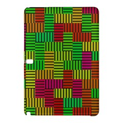 Colorful stripes and squaresSamsung Galaxy Tab Pro 10.1 Hardshell Case