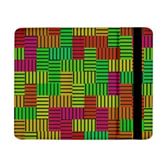 Colorful stripes and squares	Samsung Galaxy Tab Pro 8.4  Flip Case