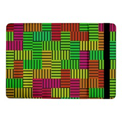 Colorful stripes and squaresSamsung Galaxy Tab Pro 10.1  Flip Case