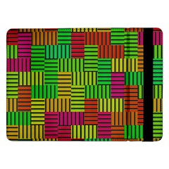 Colorful stripes and squares	Samsung Galaxy Tab Pro 12.2  Flip Case