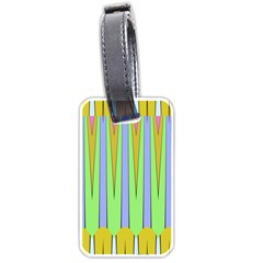 Spikes Luggage Tag (two Sides)