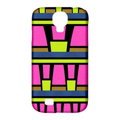 Trapeze And Stripes Samsung Galaxy S4 Classic Hardshell Case (pc+silicone)