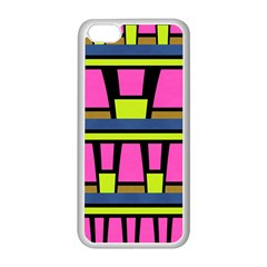 Trapeze And Stripes Apple Iphone 5c Seamless Case (white)