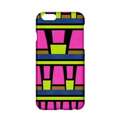 Trapeze and stripes Apple iPhone 6 Hardshell Case