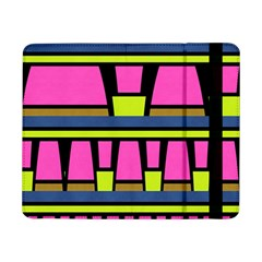 Trapeze and stripes	Samsung Galaxy Tab Pro 8.4  Flip Case