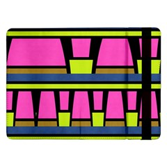 Trapeze And Stripes	samsung Galaxy Tab Pro 12 2  Flip Case