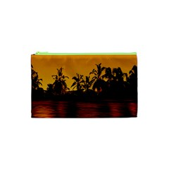 Tropical Sunset Paradise Cosmetic Bag (XS)