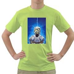 Cowcow Men s T-shirt (Green)