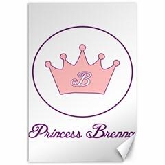 Princess Brenna2 Fw Canvas 12  X 18  (unframed)
