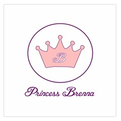 Princess Brenna2 Fw Large Satin Scarf (Square)