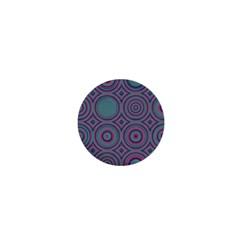 Concentric Circles Pattern 1  Mini Button