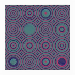 Concentric Circles Pattern Medium Glasses Cloth