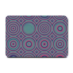 Concentric Circles Pattern Small Doormat