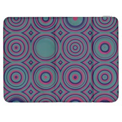 Shapes In Retro Colors Samsung Galaxy Tab 7  P1000 Flip Case