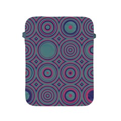 Shapes In Retro Colors Apple Ipad 2/3/4 Protective Soft Case