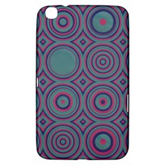Shapes In Retro Colors Samsung Galaxy Tab 3 (8 ) T3100 Hardshell Case