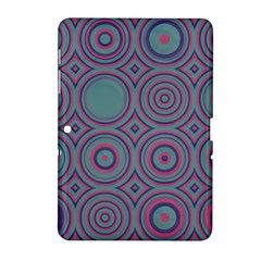 Shapes in retro colors Samsung Galaxy Tab 2 (10.1 ) P5100 Hardshell Case