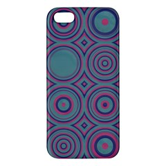 Shapes In Retro Colors Iphone 5s Premium Hardshell Case