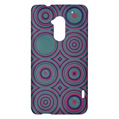 Shapes in retro colors HTC One Max (T6) Hardshell Case