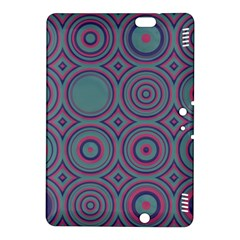 Shapes In Retro Colors Kindle Fire Hdx 8 9  Hardshell Case