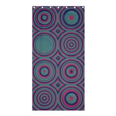 Concentric circles pattern	Shower Curtain 36  x 72