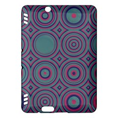 Concentric circles pattern	Kindle Fire HDX Hardshell Case