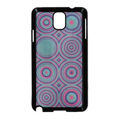 Concentric Circles Pattern Samsung Galaxy Note 3 Neo Hardshell Case