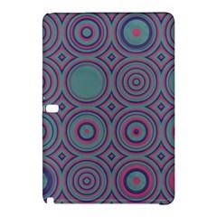 Concentric circles patternSamsung Galaxy Tab Pro 12.2 Hardshell Case
