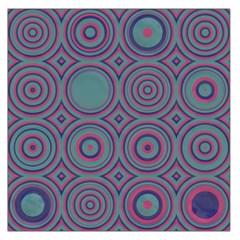Concentric circles pattern Satin Scarf