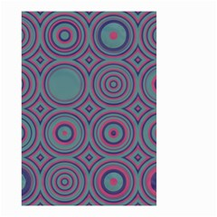Concentric circles pattern Small Garden Flag