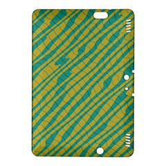 Blue yellow waves Kindle Fire HDX 8.9  Hardshell Case