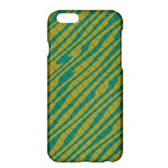 Blue yellow waves	Apple iPhone 6 Plus Hardshell Case