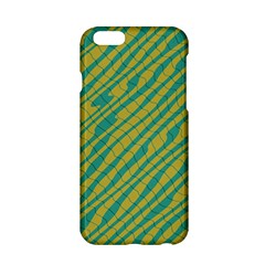Blue Yellow Waves Apple Iphone 6 Hardshell Case