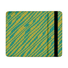 Blue yellow waves	Samsung Galaxy Tab Pro 8.4  Flip Case