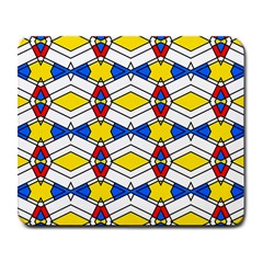 Colorful Rhombus Chains Large Mousepad