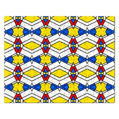 Colorful Rhombus Chains Jigsaw Puzzle (rectangular)