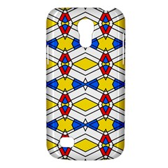 Colorful Rhombus Chains Samsung Galaxy S4 Mini (gt I9190) Hardshell Case