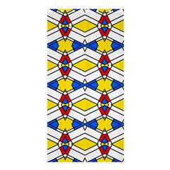 Colorful rhombus chains	Shower Curtain 36  x 72