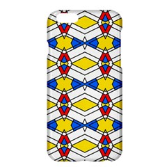 Colorful rhombus chains	Apple iPhone 6 Plus Hardshell Case