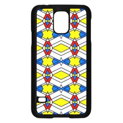 Colorful Rhombus Chainssamsung Galaxy S5 Case
