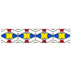 Colorful Rhombus Chains Flano Scarf