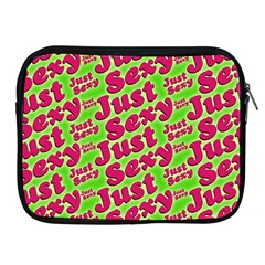 Just Sexy Quote Typographic Pattern Apple Ipad 2/3/4 Zipper Cases