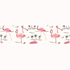 Flamingo Pattern Large Bar Mats