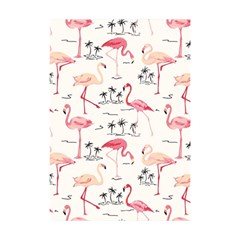 Flamingo Pattern Shower Curtain 48  X 72  (small)