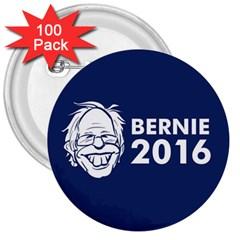 Bernie 2016 2 3  Buttons (100 Pack)