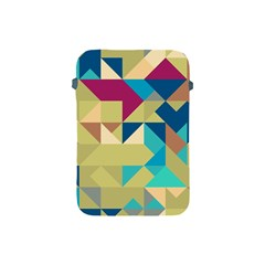 Scattered Pieces In Retro Colors Apple Ipad Mini Protective Soft Case