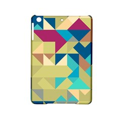 Scattered Pieces In Retro Colors Apple Ipad Mini 2 Hardshell Case