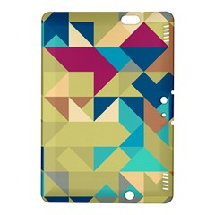 Scattered pieces in retro colorsKindle Fire HDX 8.9  Hardshell Case