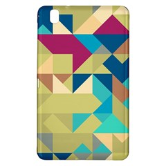 Scattered pieces in retro colorsSamsung Galaxy Tab Pro 8.4 Hardshell Case