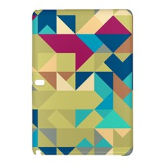 Scattered Pieces In Retro Colors	samsung Galaxy Tab Pro 12 2 Hardshell Case